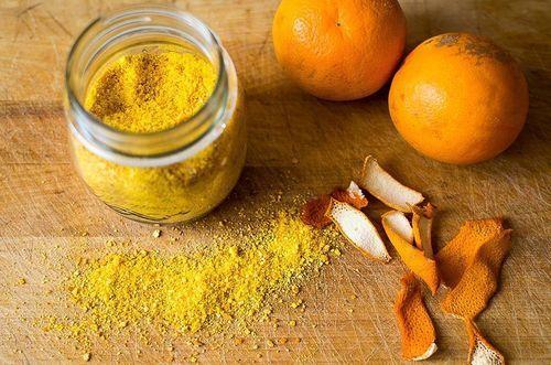 organic orange peel powder 904